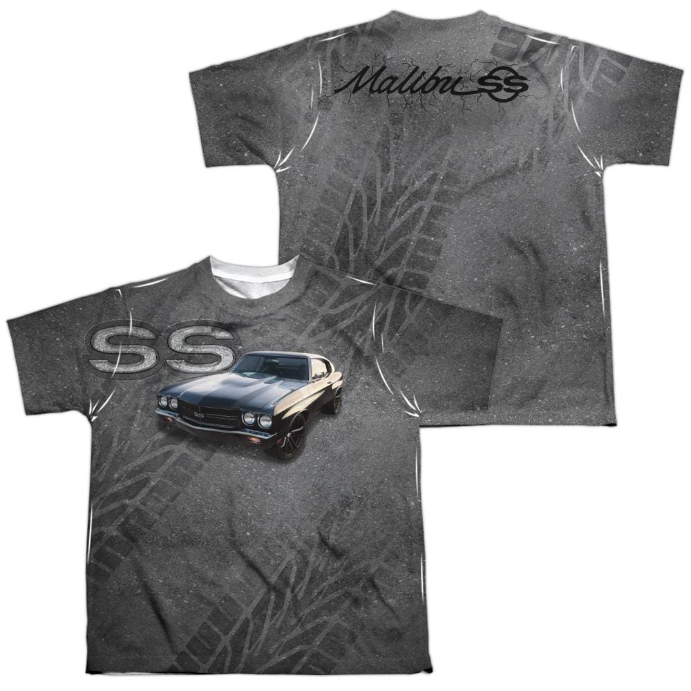 Chevrolet - Muscle Chevelle Ss Youth All Over Print 100% Poly T-Shirt