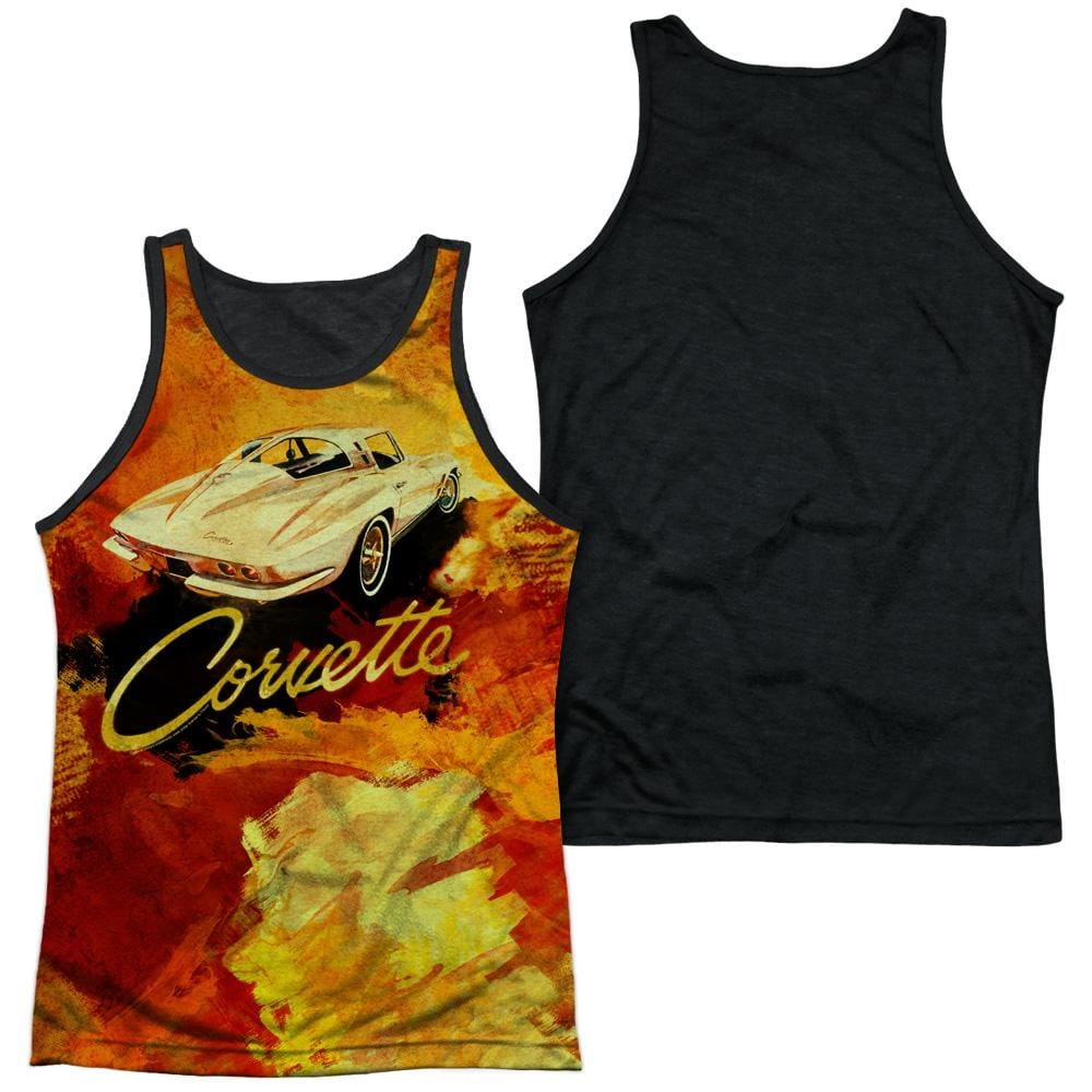 Chevrolet - Painted Sting Ray Adult Tank Top