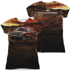 Chevrolet - Silverado In The Mud Junior All Over Print 100% Poly T-Shirt