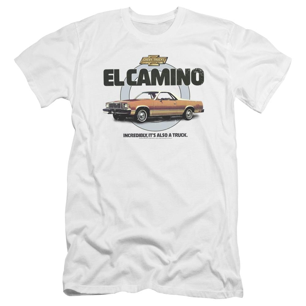 Chevrolet Also A Truck Premium Adult Slim Fit T-Shirt