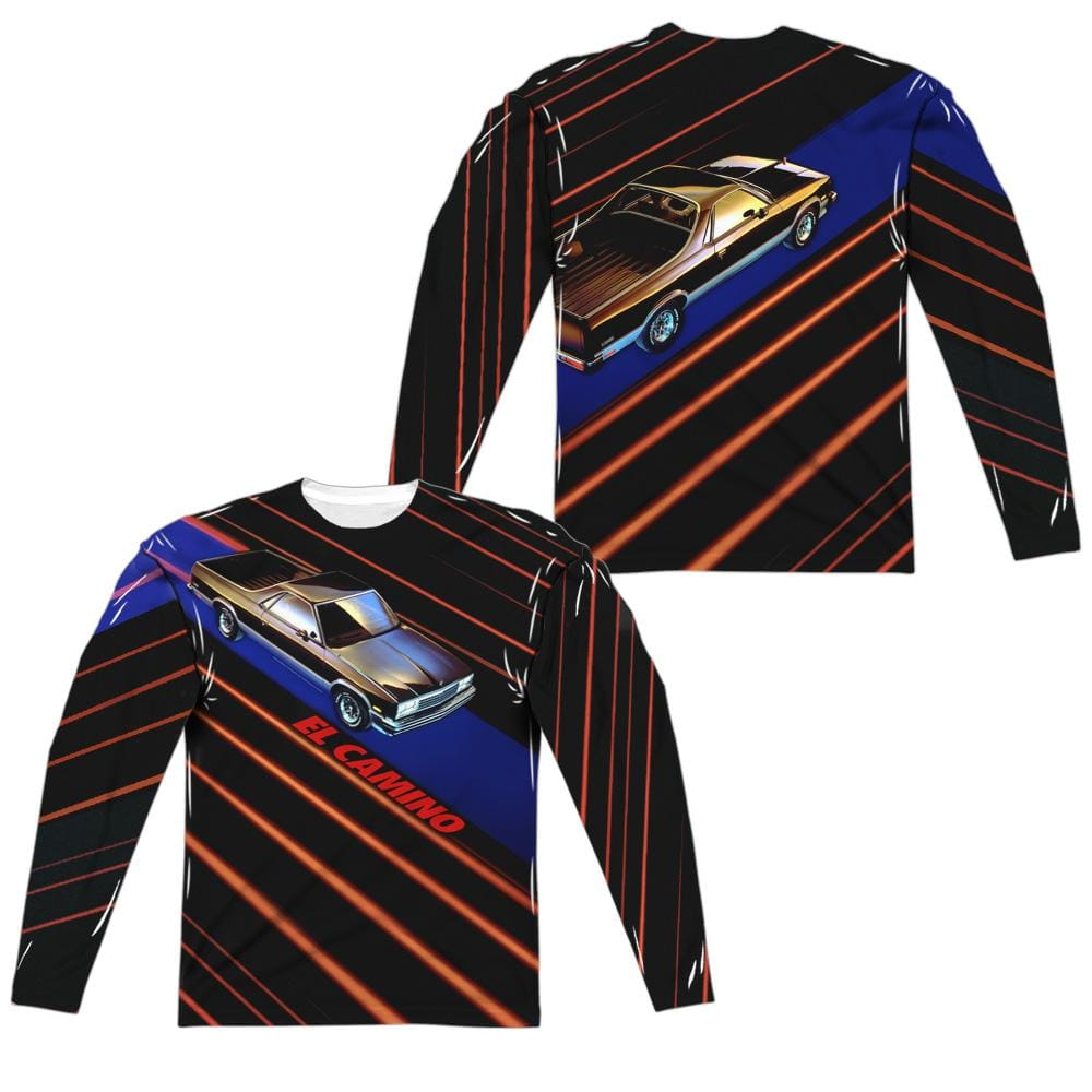 Chevrolet - Laser Camino Adult Long Sleeve T-Shirt