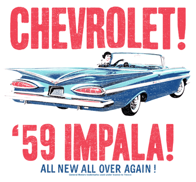Chevrolet 59 Impala Men's Regular Fit T-Shirt