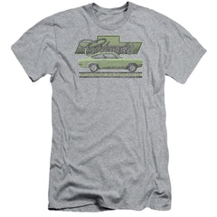 Chevrolet Vega Car Of The Year 71 Adult Slim Fit T-Shirt