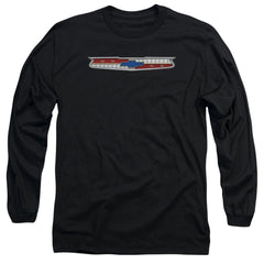 Chevy - 56 Bel Air Emblem Adult Long Sleeve T-Shirt