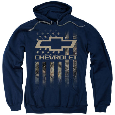 Chevrolet Camo Flag Pullover Hoodie