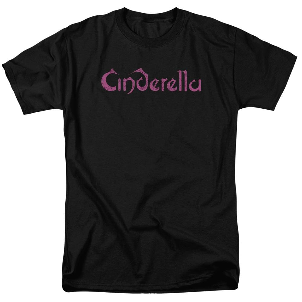 Cinderella Logo Rough Adult Regular Fit T-Shirt