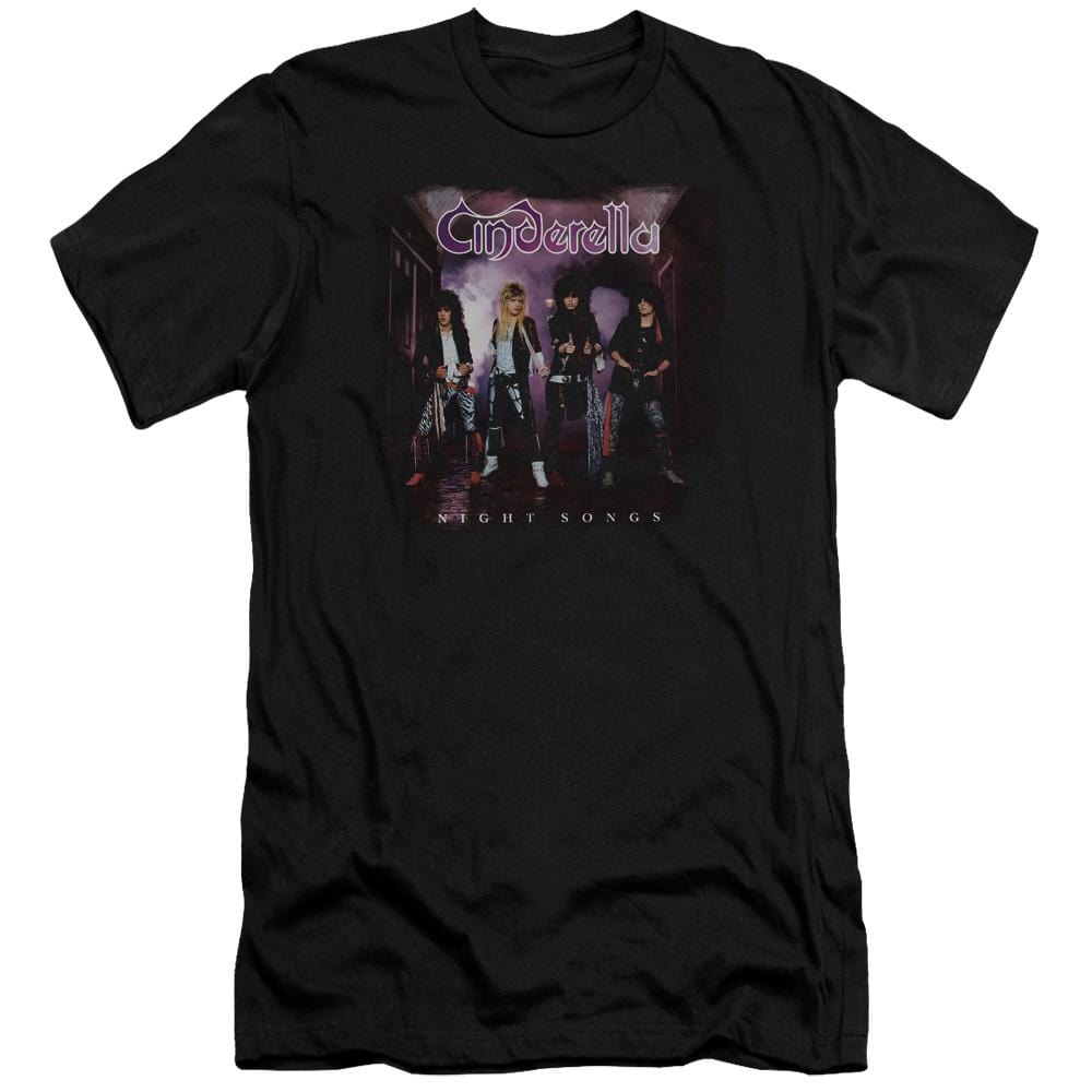 Cinderella Night Songs Adult Slim Fit T-Shirt