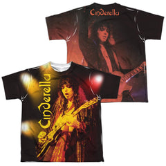Cinderella - Live Show Youth All Over Print 100% Poly T-Shirt