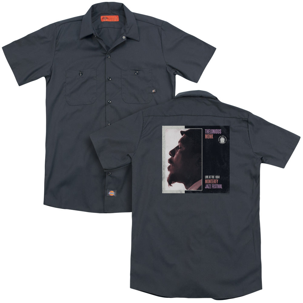 Thelonious Monk Monterey Adult Work Shirt