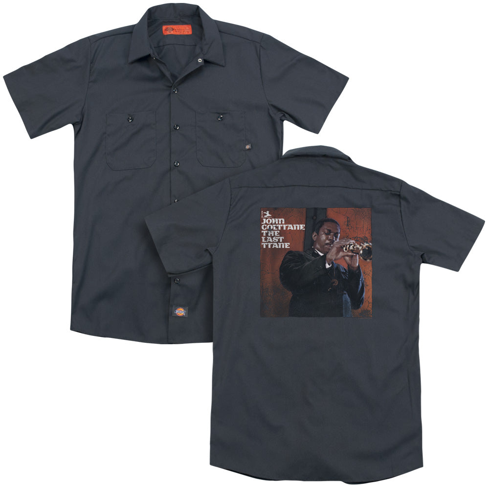 John Coltrane Last Trane Adult Work Shirt