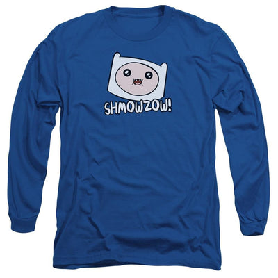 Adventure Time Shmowzow Men's Long Sleeve T-Shirt