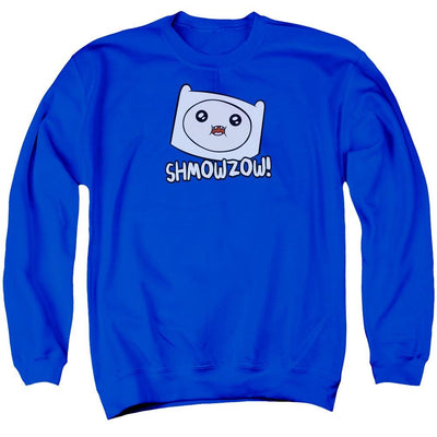 Adventure Time Shmowzow Men's Crewneck Sweatshirt