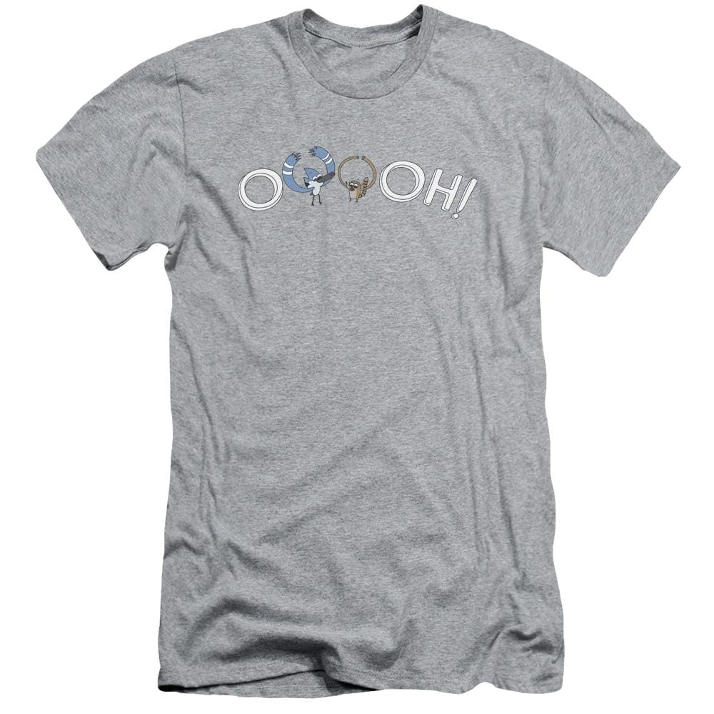 The Regular Show - Ooooh Adult Slim Fit T-Shirt