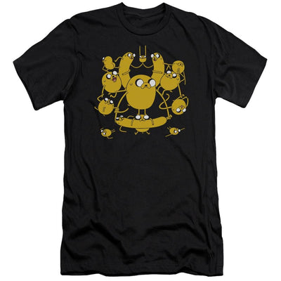 Adventure Time Jakes Men's Slim Fit T-Shirt