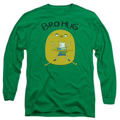 Adventure Time Bro Hug Men's Long Sleeve T-Shirt