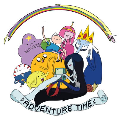 Adventure Time Print Out Men's Regular Fit T-Shirt