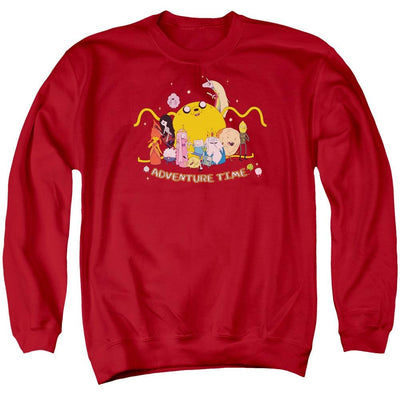 Adventure Time Outstretched Men's Crewneck Sweatshirt