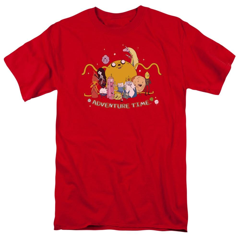Adventure Time - Outstretched Adult Regular Fit T-Shirt