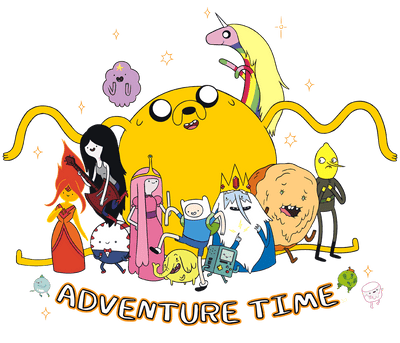 Adventure Time Outstretched Men's Heather T-Shirt