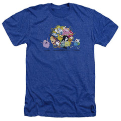 Adventure Time - Glob Ball Adult Regular Fit Heather T-Shirt