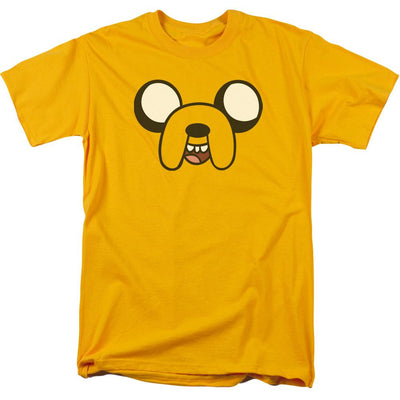 Adventure Time Jake Head Men's Regular Fit T-Shirt