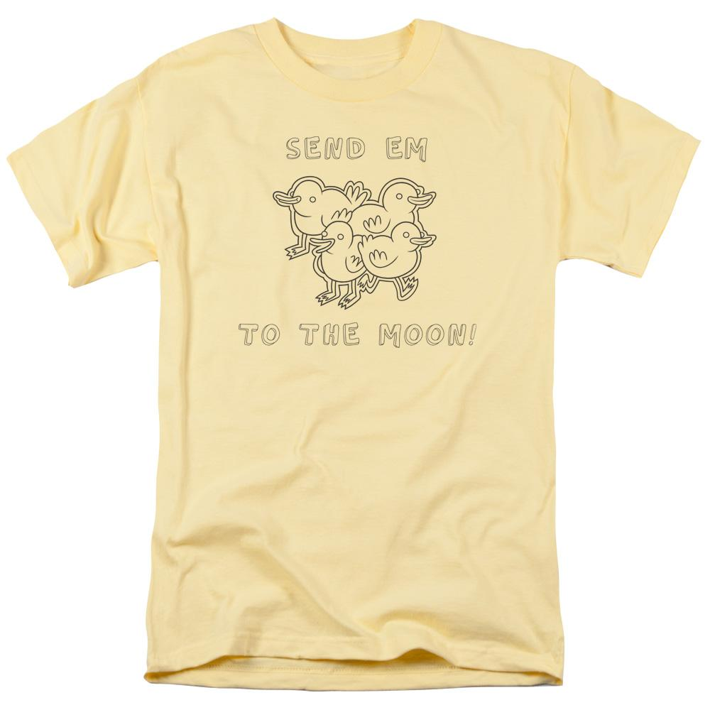 Regular Show - Baby Ducks Adult Regular Fit T-Shirt