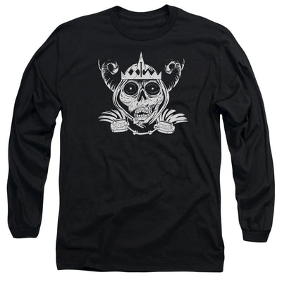 Adventure Time Skull Face Men's Long Sleeve T-Shirt