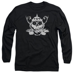 Adventure Time - Skull Face Adult Long Sleeve T-Shirt