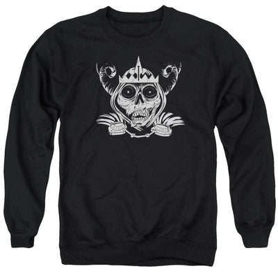 Adventure Time Skull Face Men's Crewneck Sweatshirt