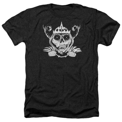 Adventure Time Skull Face Men's Heather T-Shirt
