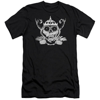 Adventure Time Skull Face Men's Slim Fit T-Shirt