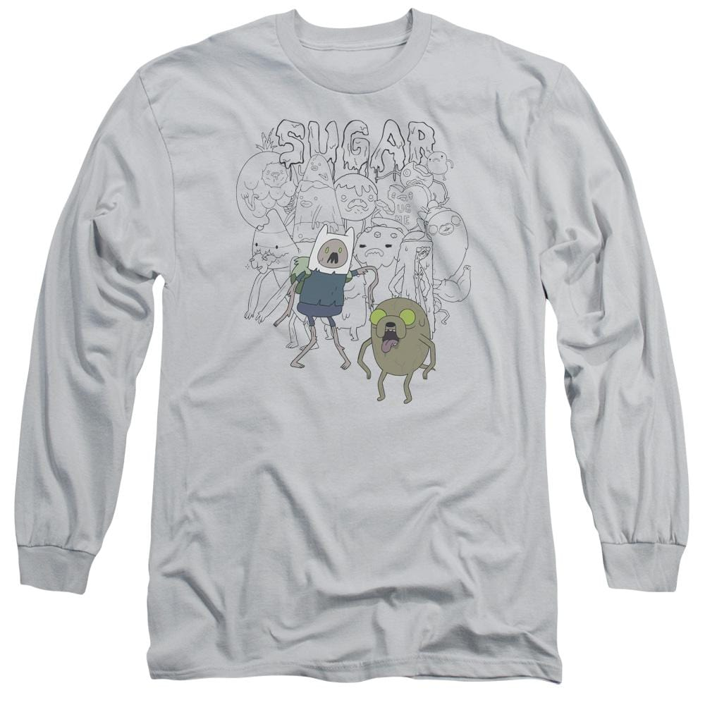 Adventure Time - Sugar Zombies Adult Long Sleeve T-Shirt
