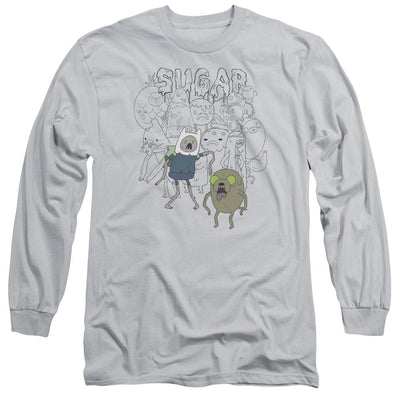 Adventure Time Sugar Zombies Men's Long Sleeve T-Shirt