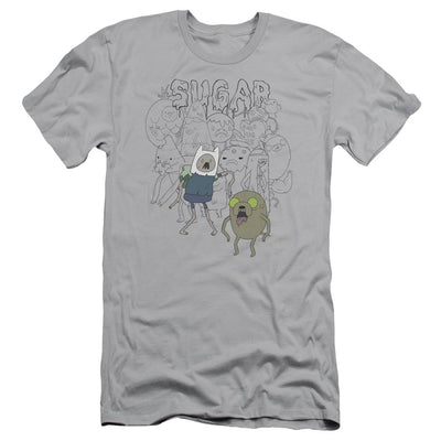 Adventure Time Sugar Zombies Men's Slim Fit T-Shirt