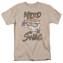 Dexter's Laboratory Nerd Swag Adult Regular Fit T-Shirt