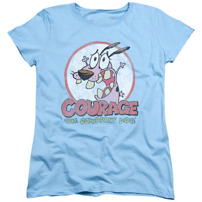Courage The Cowardly Dog Vintage Courage Women's T-Shirt