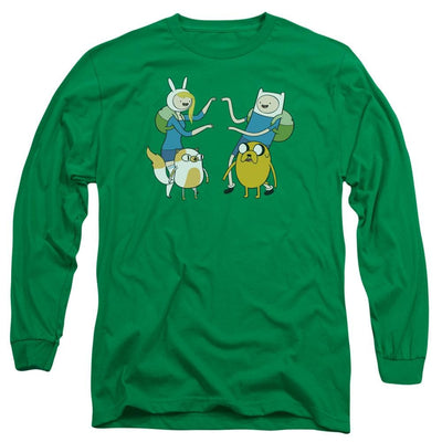 Adventure Time Meet Up Men's Long Sleeve T-Shirt