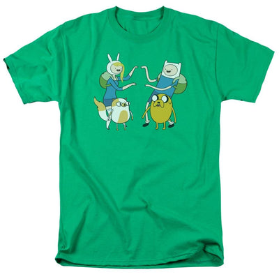 Adventure Time Meet Up Men's Regular Fit T-Shirt
