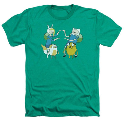 Adventure Time Meet Up Men's Heather T-Shirt