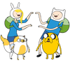 Adventure Time Meet Up Juniors T-Shirt