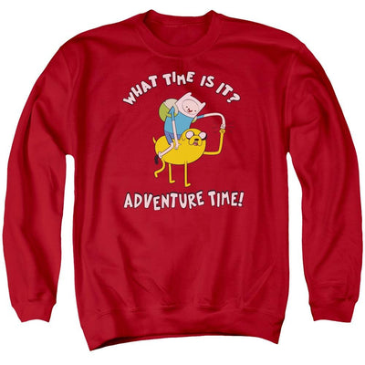 Adventure Time Ride Bump Men's Crewneck Sweatshirt