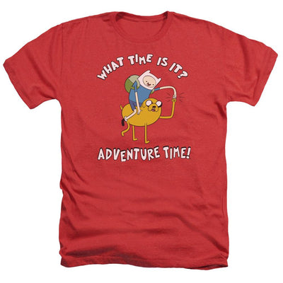 Adventure Time Ride Bump Men's Heather T-Shirt
