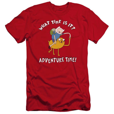 Adventure Time Ride Bump Men's Premium Slim Fit T-Shirt