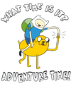 Adventure Time Ride Bump Juniors T-Shirt