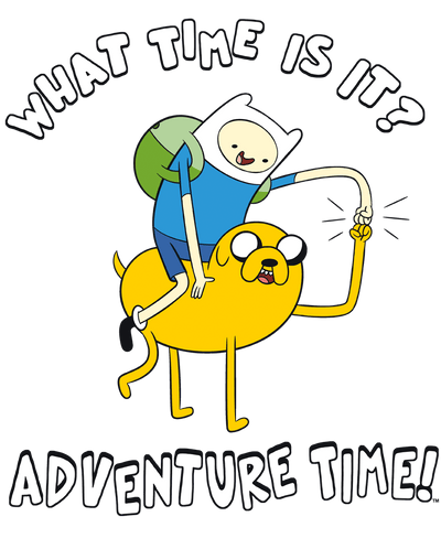 Adventure Time Ride Bump Men's Regular Fit T-Shirt