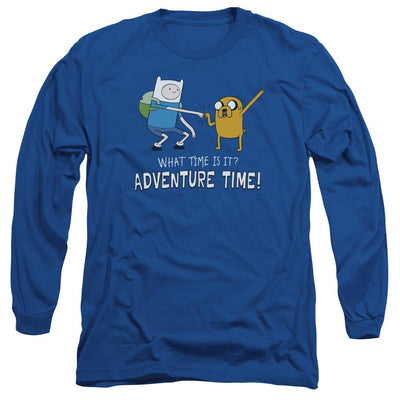 Adventure Time Fist Bump Men's Long Sleeve T-Shirt