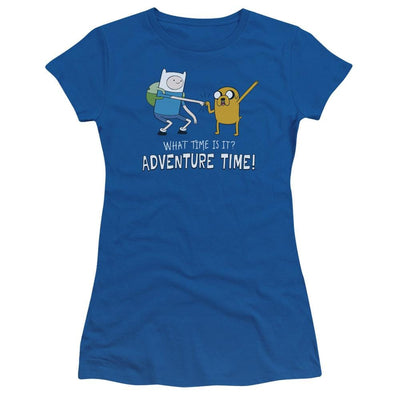 Adventure Time Fist Bump Juniors T-Shirt