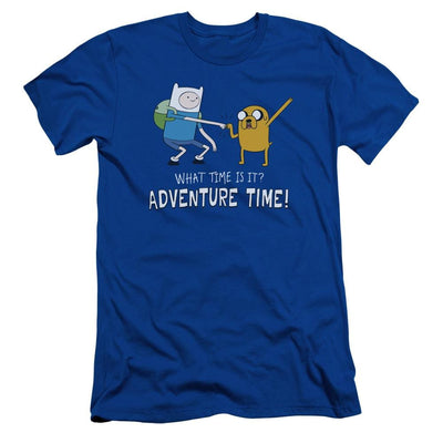 Adventure Time Fist Bump Men's Slim Fit T-Shirt