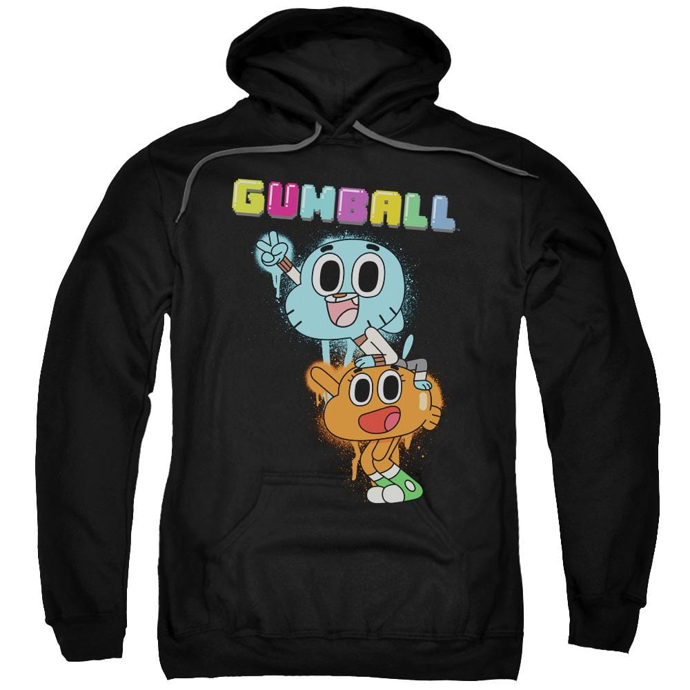Amazing World Of Gumball - Gumball Spray Adult Pull-Over Hoodie