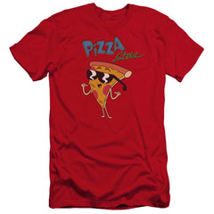 Uncle Grandpa Pizza Steve Premium Adult Slim Fit T-Shirt